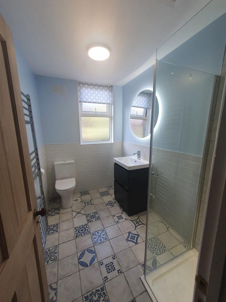 bathroom refurbishment by house architects