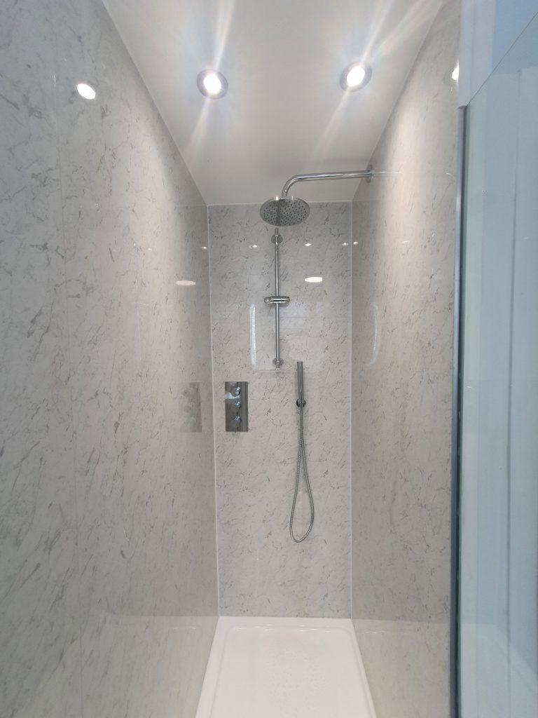 Bathroom refurbishment designed by house architects
