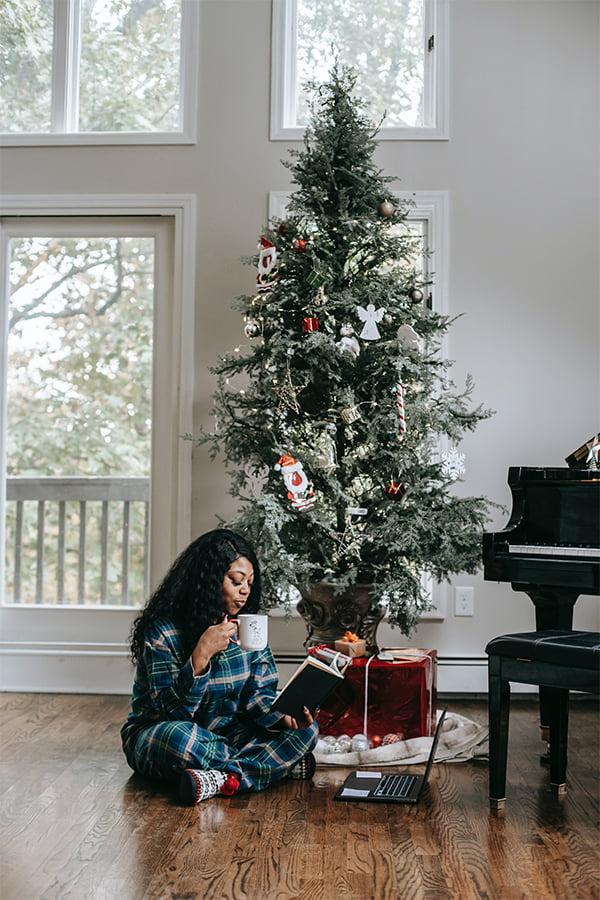 Christmas Tree, Presents, Piano